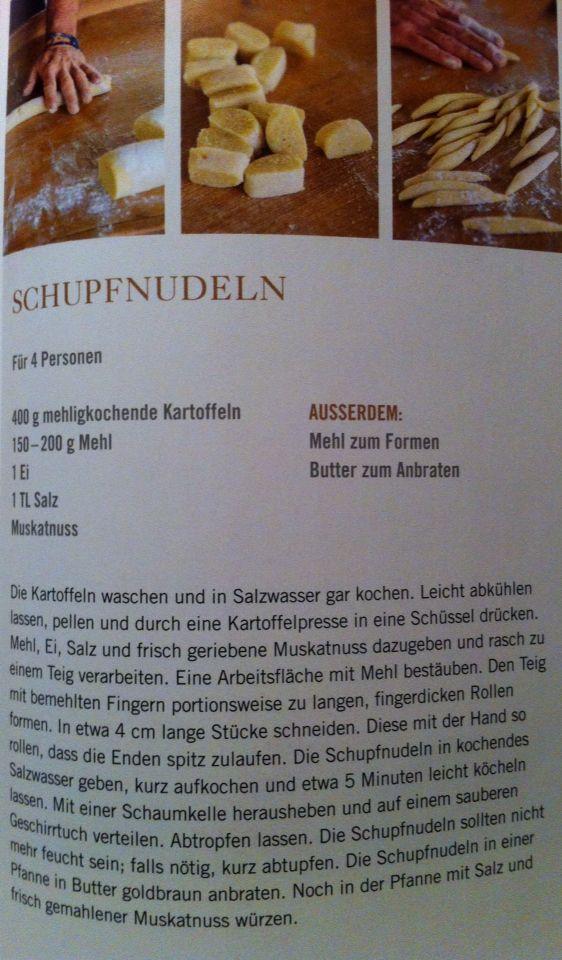 Schupfnudelm Essen Rezepte