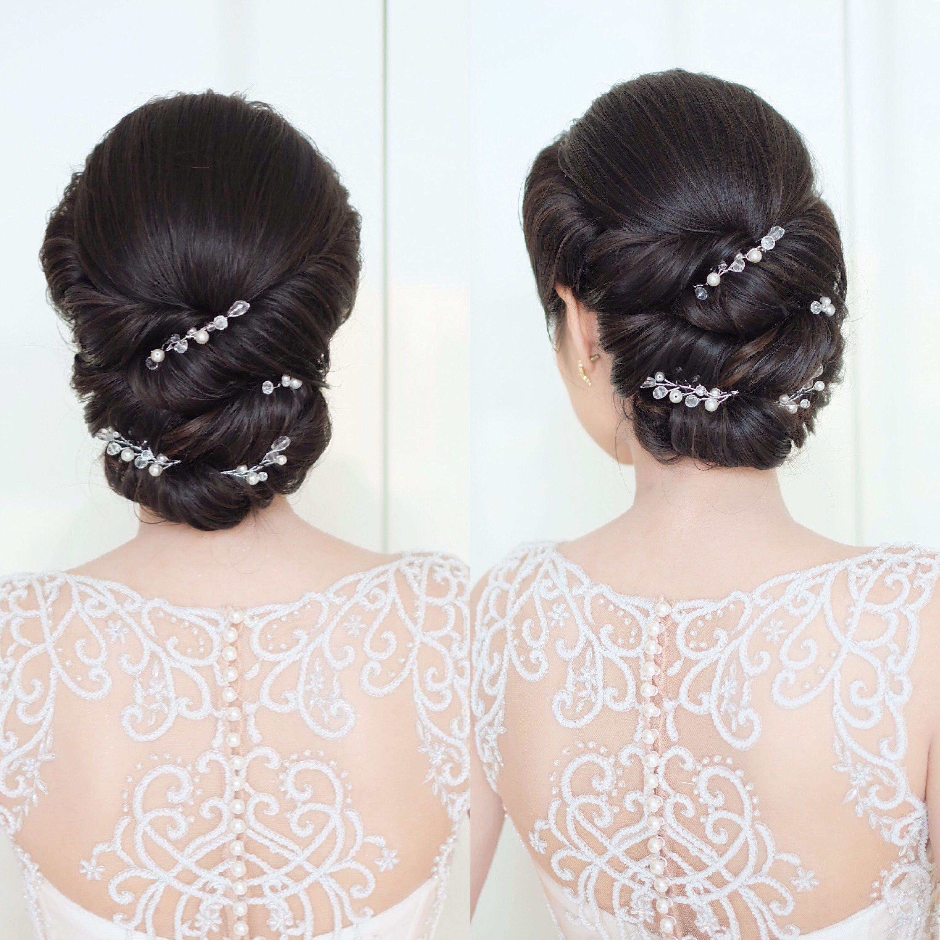 Pin by shobha anand on hair styles | Pinterest | Hair style, Bridal ...
