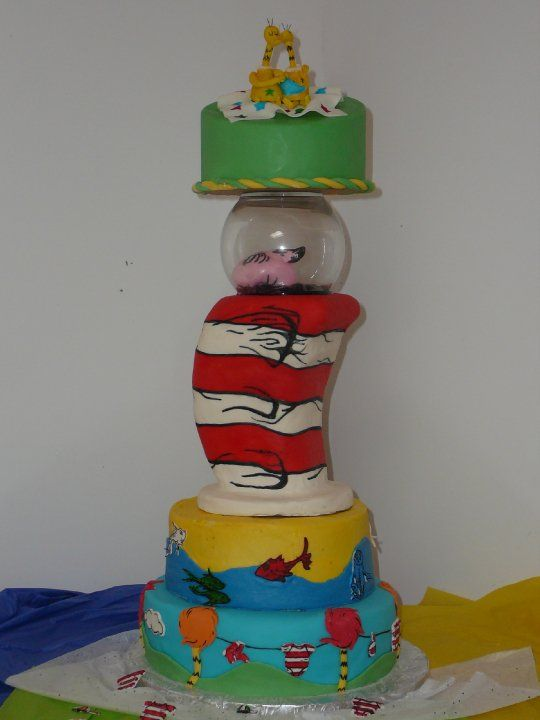 Dr. Suess Baby Shower Ideas | Dr. Seuss Baby Shower « Cakes By Cristinas