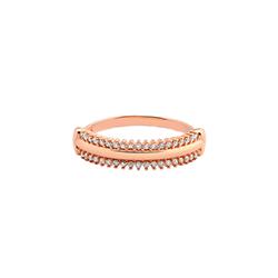 585926d0554b2 Anel Ouro Rosé e Diamantes   15 anos   Pinterest