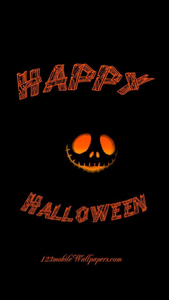 Happy Halloween Pumpkin Horror Wallpaper IPhone