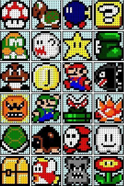 Super Mario Quilt Mario Quilt Perler Bead Patterns Perler Bead Art