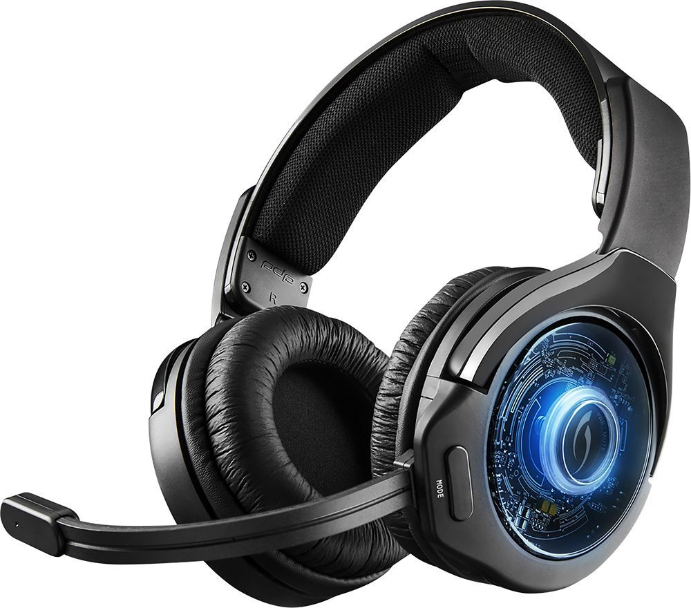 f64655a563a Afterglow - AG 9 Wireless Stereo Sound Over-the-Ear Gaming Headset for  PlayStation 4 - Black