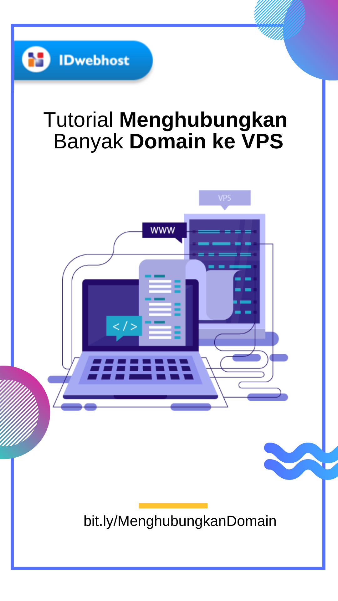 Tutorial Menghubungkan Banyak Domain Ke Vps Website Sahabat
