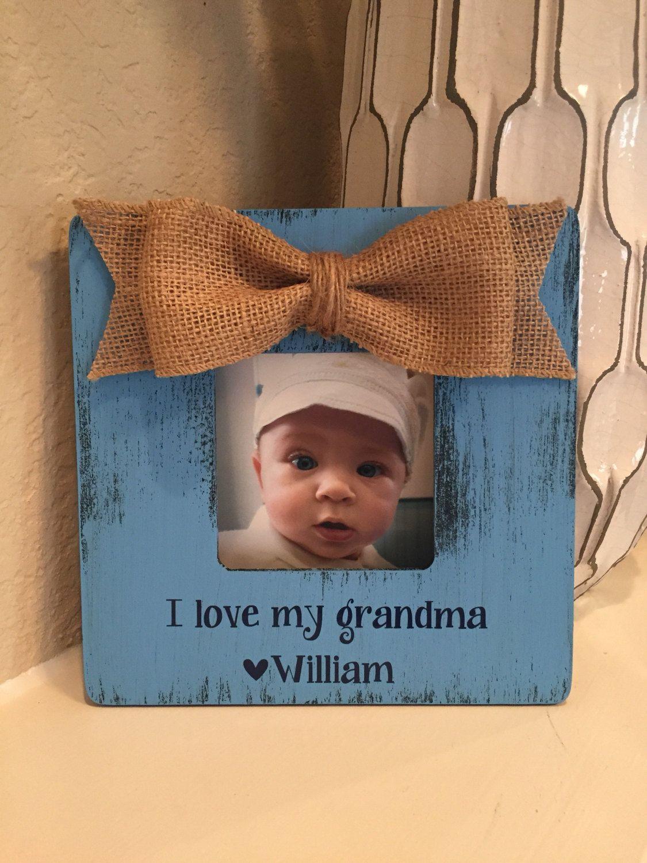 Christmas Gift for Grandma nana frame gift grandparents grandma ...