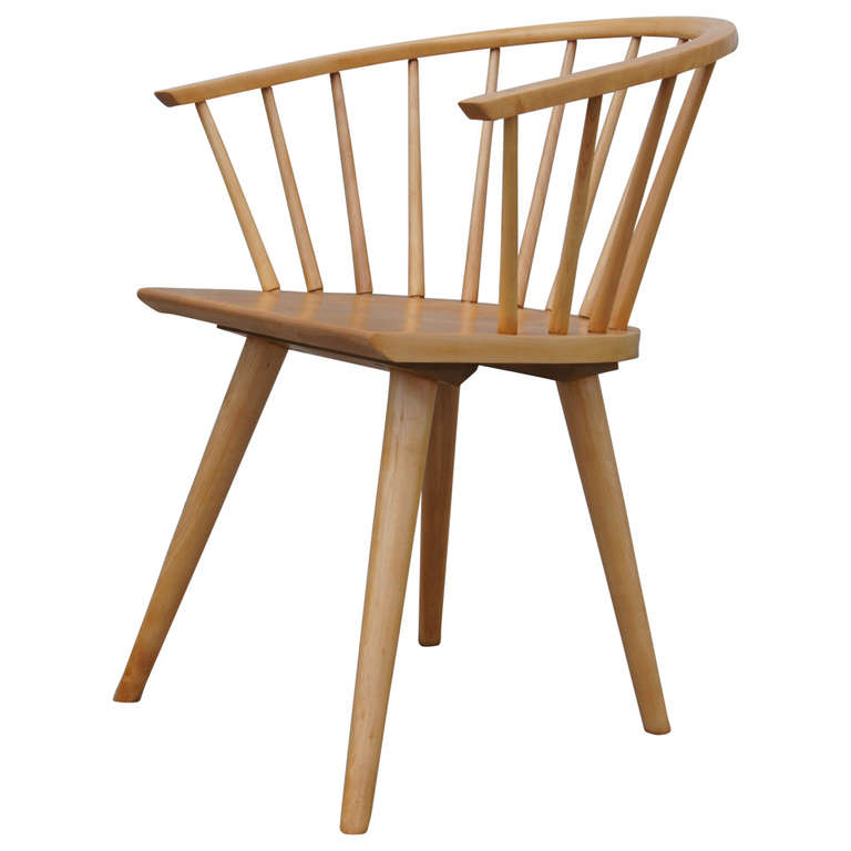 Awesome Dining Chair By Russel Wright For Conant Ball | From A Unique Collection Of  Antique And