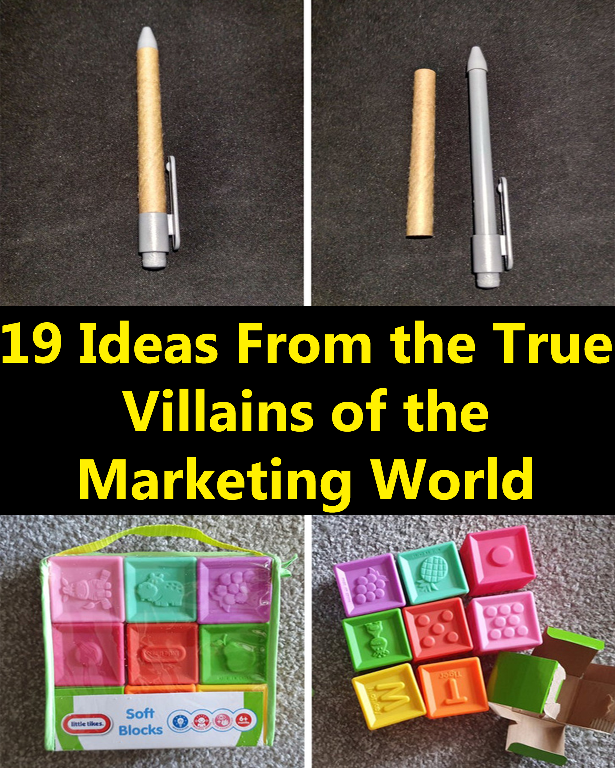 19 Ideas From The True Villains Of The Marketing World Girls With Glasses Weird Facts 22 Words