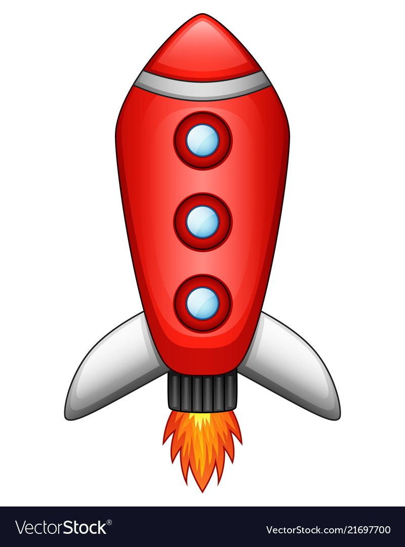 Cartoon Rocket Spaceship Isolated On White Backgro  E B A E B B E B  E B E E B B E B Ab E B  E B B