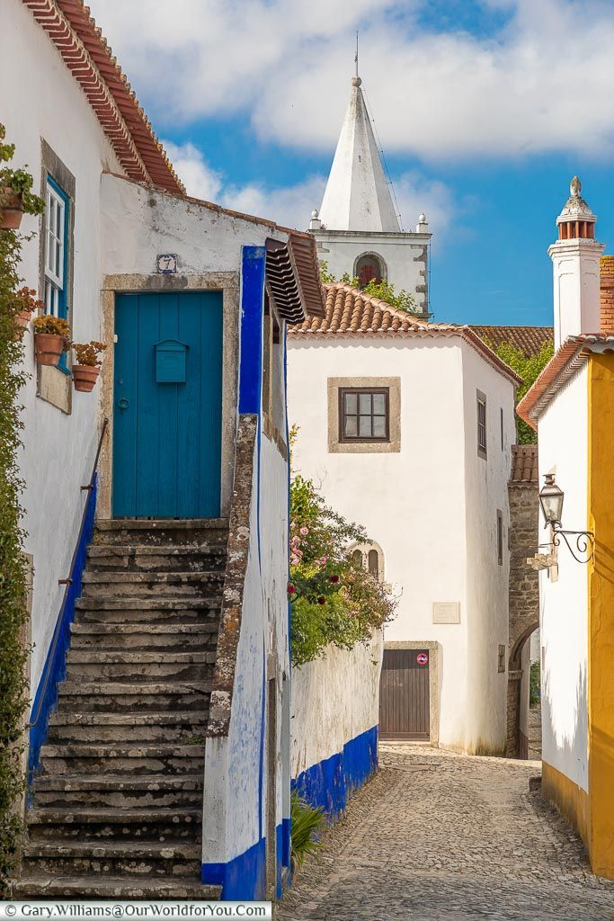 The Hill Town of Óbidos, Portugal