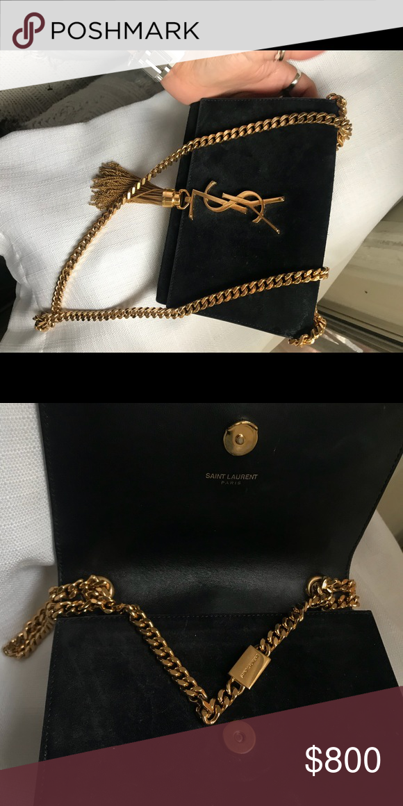 Ysl small suede tassel Kate bag Very moderate condition , light wear Yves  Saint Laurent Bags Shoulder Bags a1a29ff0d7