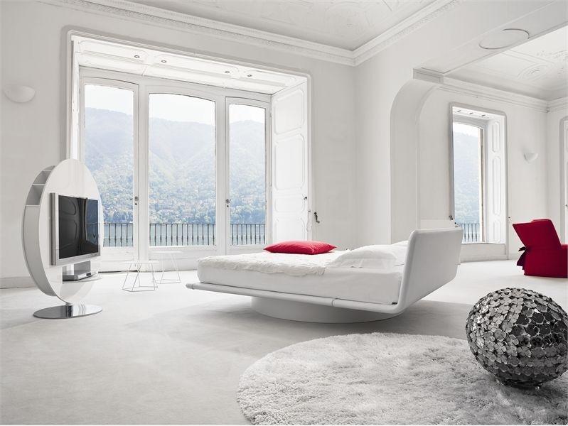 white modern bedroom Wohnideen fürs Schlafzimmer Pinterest