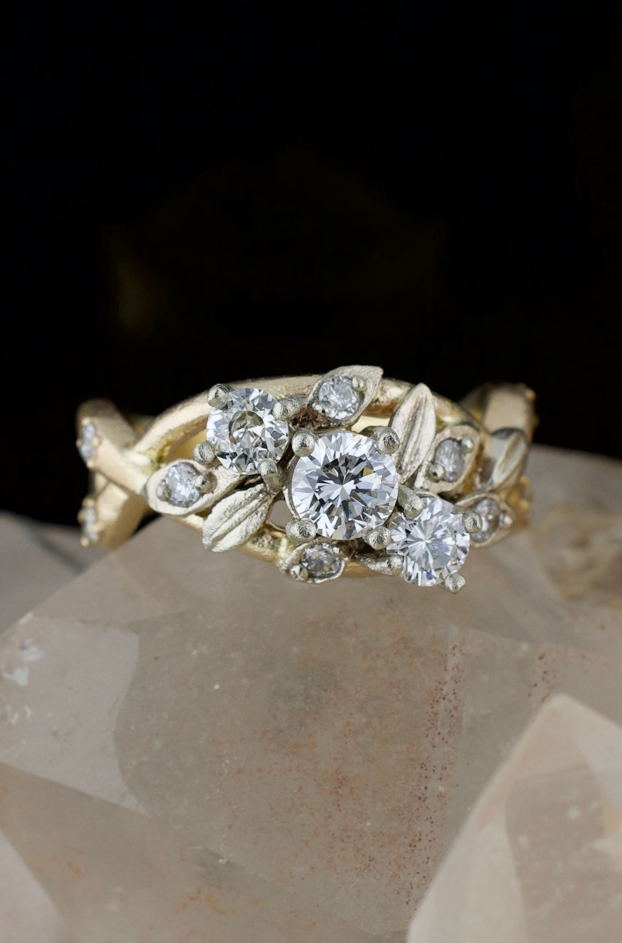 Remodeled Diamond Ring Old Jewelry Rings Baguette Diamond Rings