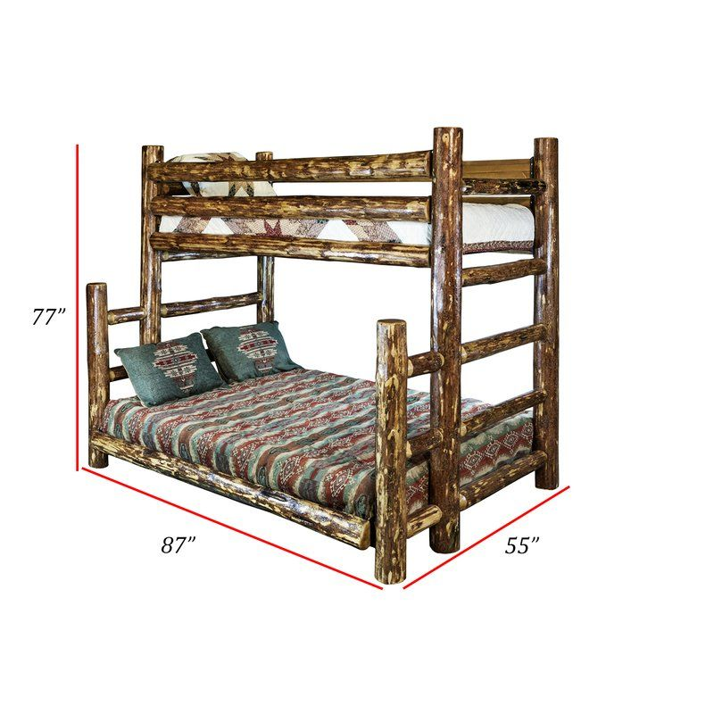 Tustin Twin Over Full Bunk Bed Twin Full Bunk Bed Kids Bunk