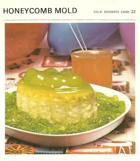 Its either shedding or guarding its young honeycomb mold its either shedding or guarding its young honeycomb mold marguerite pattens recipe cards forumfinder Images