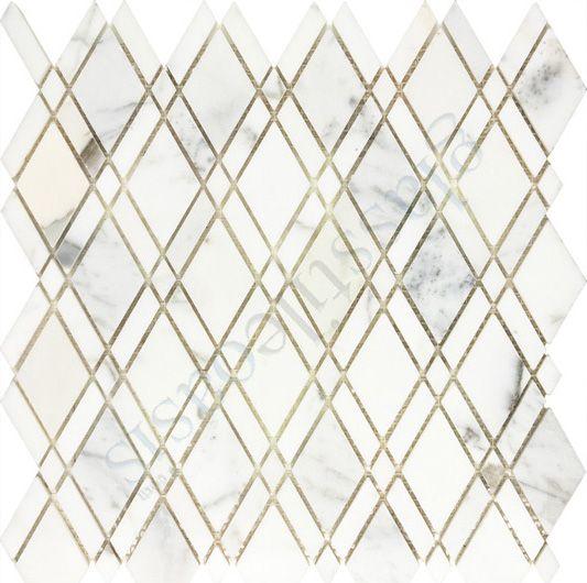 Calacatta Gold Marble Calacatta Gold Marble Stone Mosaic Tile Stone Mosaic