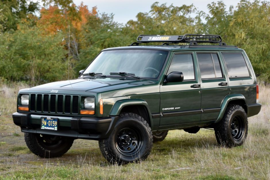 2000 Jeep Cherokee Sport Vencedores