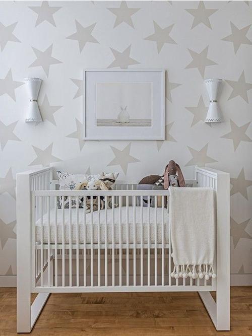 7 habitaciones de bebé con estrellas Decoración Bebés y - decoracion de cuartos