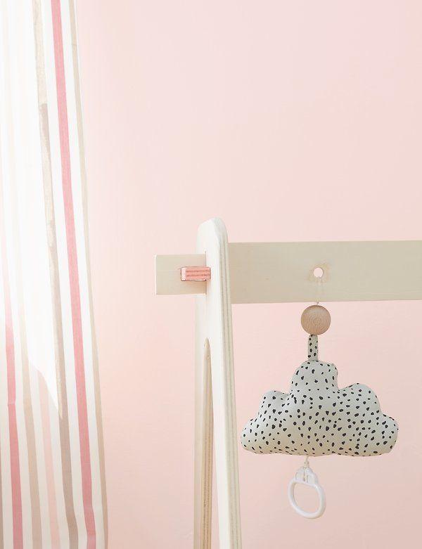 Babyzimmer Einhornrosa