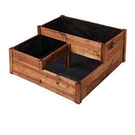 carr potager milos 96 x 96 cm castorama potagers balcons pinterest carr potager. Black Bedroom Furniture Sets. Home Design Ideas