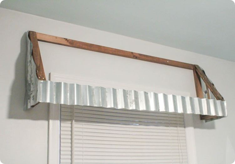 How To Make Gorgeous Farmhouse Window Awnings Window