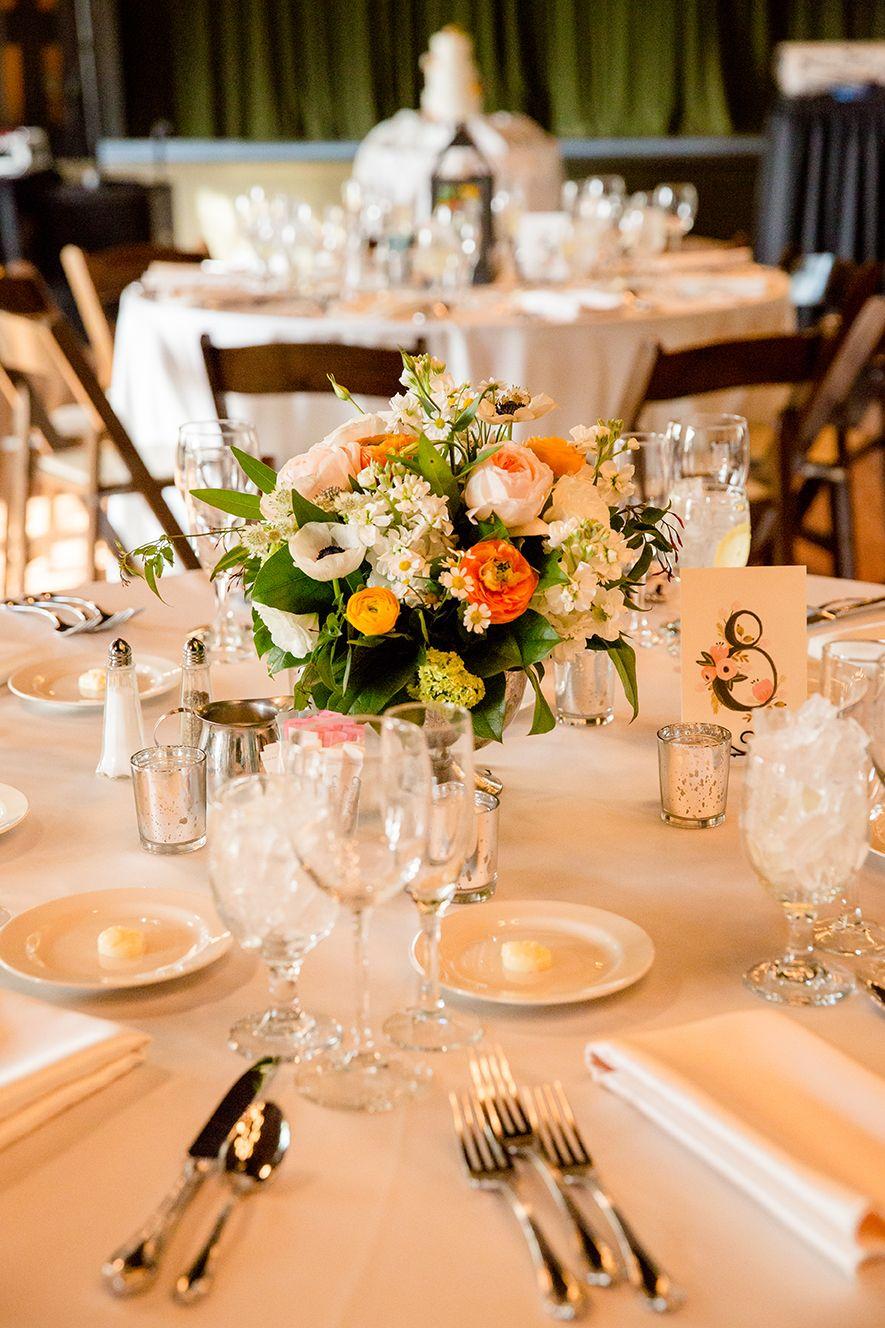 Kenilworth Club Spring Wedding Centerpieces Wedding Time