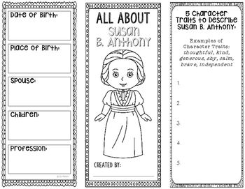 Susan B Anthony  Human Rights Activist Biography Research