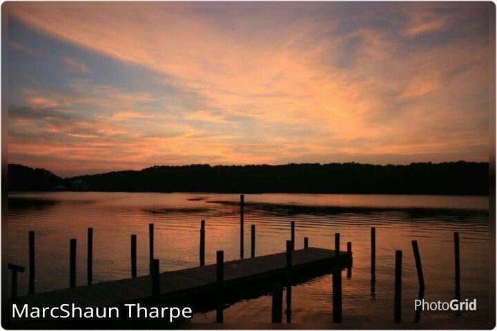 7/26/15 Coosa River, Alabama Sunrise.  Photographer: MarcShaun Tharpe.  PhotoGrid used to add photographers name to photo.