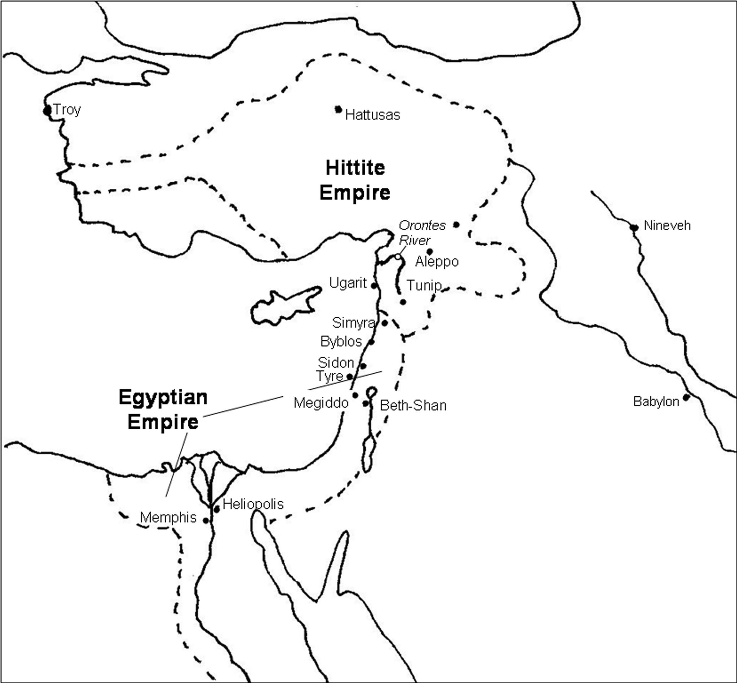 Hittite Empire Compared To Egyptian Empire Mystery Of