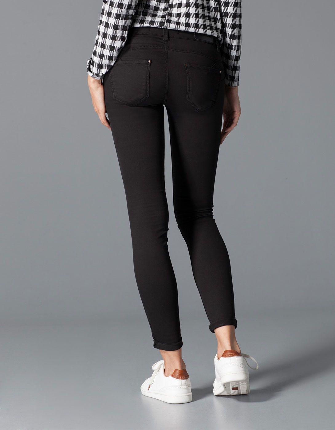 pantal n el stico push up stradivarius pantalones pinterest fall fashion moda and clothes. Black Bedroom Furniture Sets. Home Design Ideas