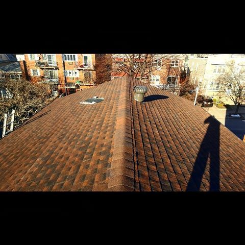 Best Hickory Color Gaf Shingle Roof Installation In Maspeth 400 x 300