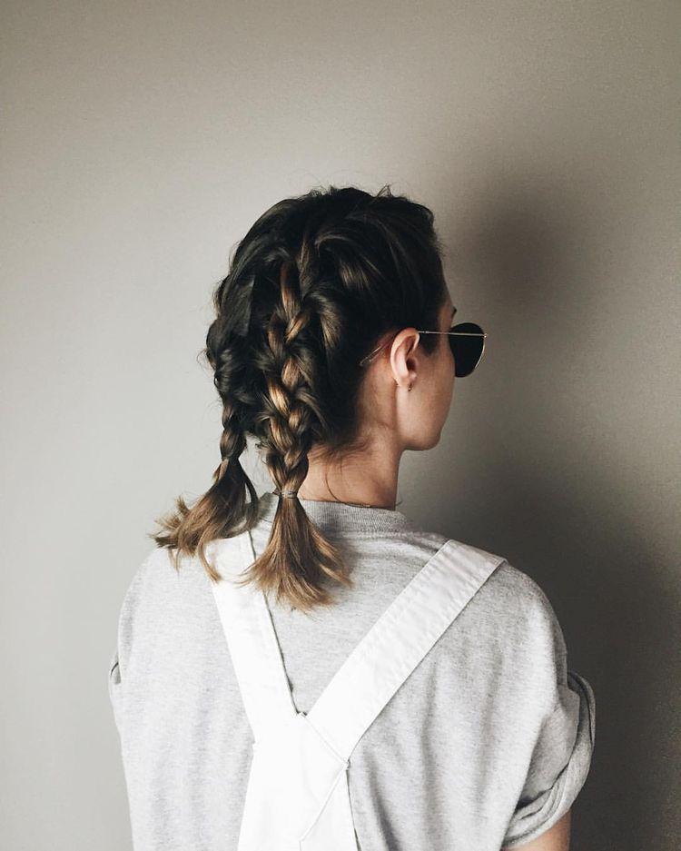 Pin By Ponybun On My Photos Braids For Medium Length Hair Hair Styles Braids For Short Hair