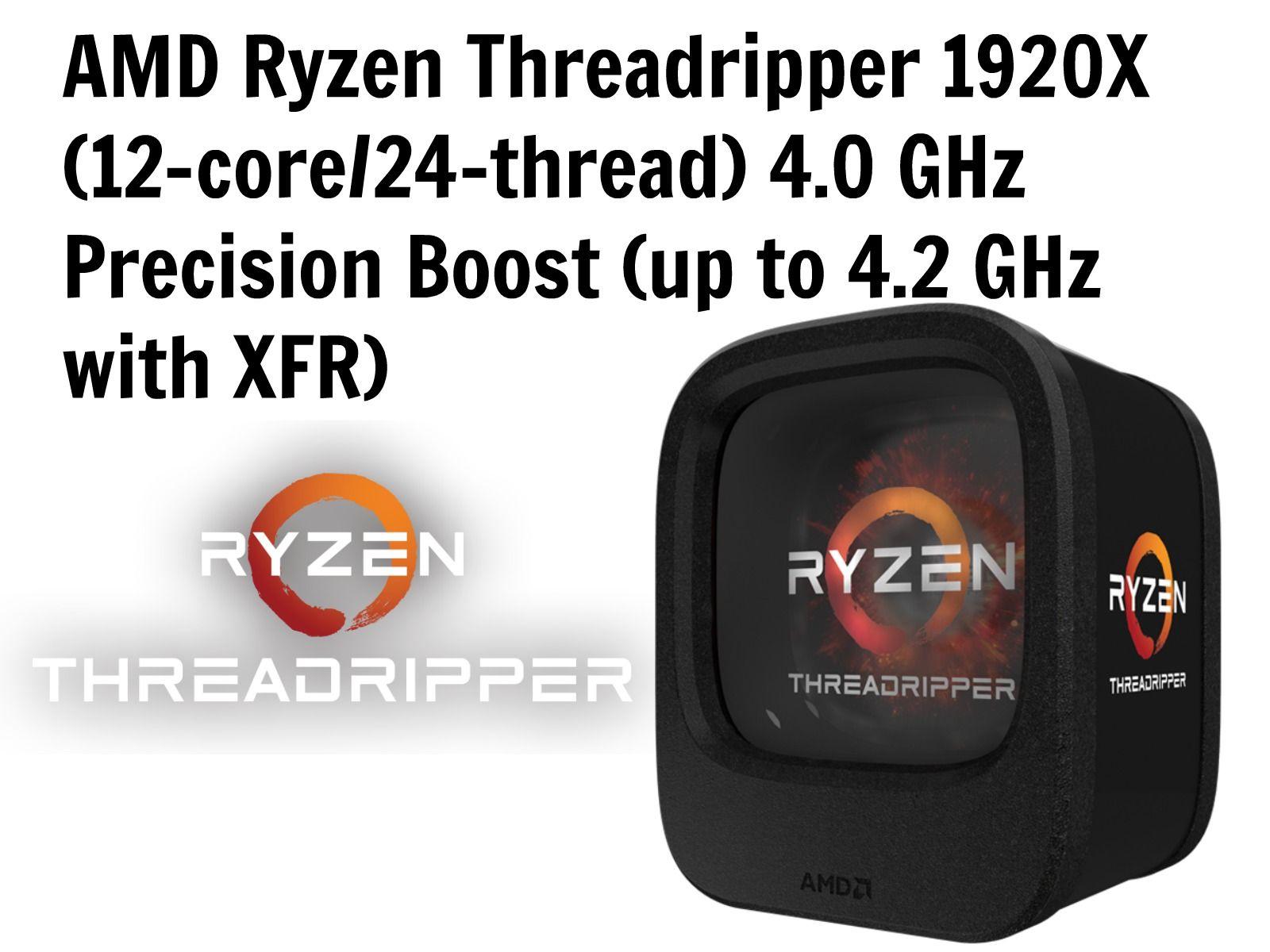 Amd Ryzen Threadripper 1920x 12 Core 24 Thread Amdthreadripper1920x Amd1920x Threadripper Ryzennewcpu Ryzencpu Threadripper1920x Amd Fitbit Zip Thread