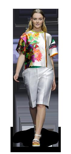 Elena Mirò Spring Summer 2014 Fashion Show