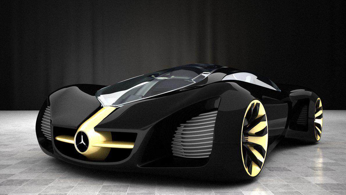 Bioma Gold Black By Bacarlitos Mercedes Benz Biome Futuristic Cars Top Luxury Cars