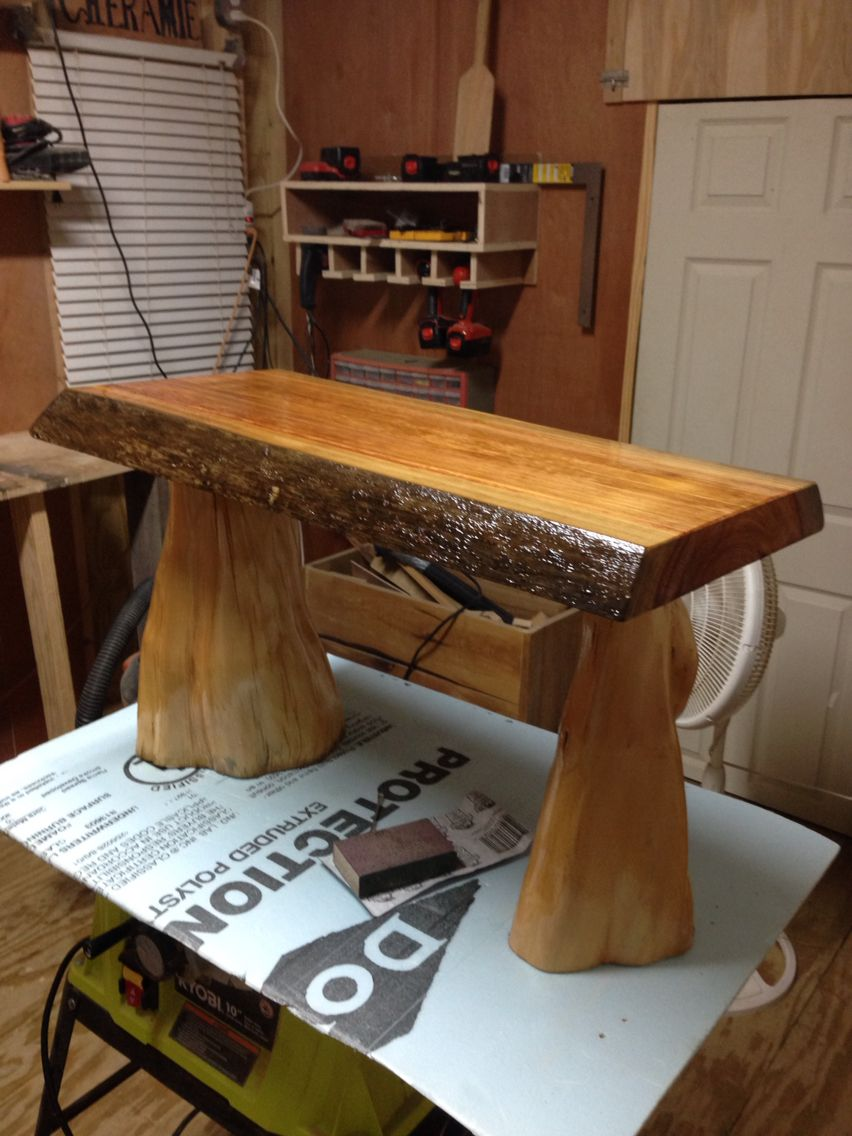 Image result for cypress knee tables (With images