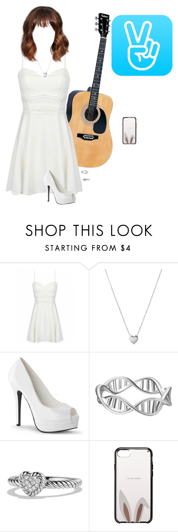 """V App~Luna"" by luna-from-dna ❤ liked on Polyvore featuring Links of London, David Yurman and Kate Spade"