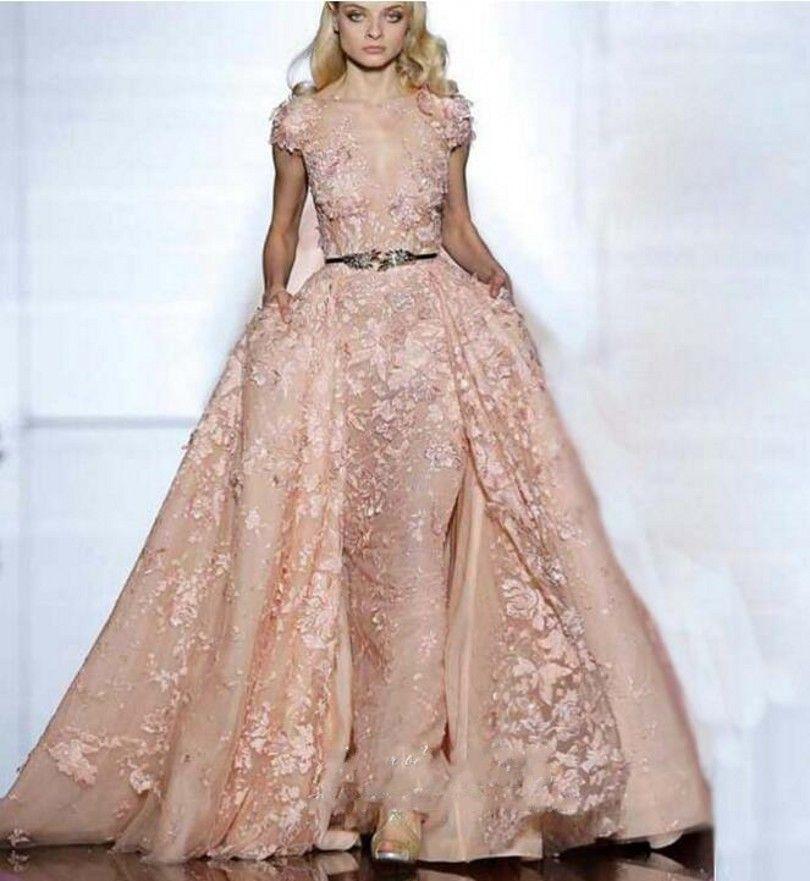 Luxury Long Evening Dress 2016 Two Pieces Vestido De Festa Princess ...