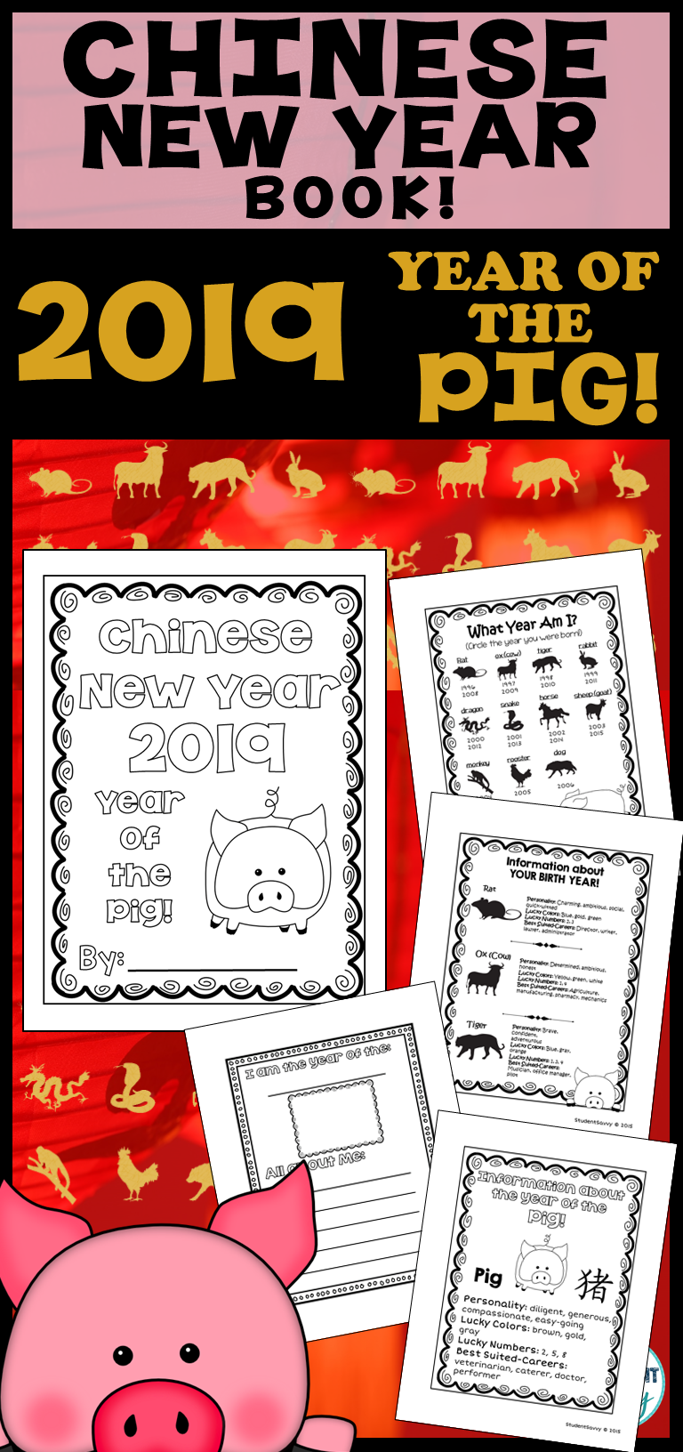 Chinese new year 2019 activities year of the pig book - What is the lucky color of the year 2019 ...