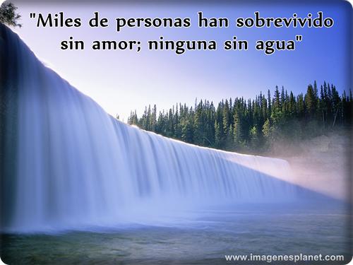 Imágenes Con Frases Chidas Para Celular De Amor Románticas: Imagenes De Agua Con Frases Y Pensameintos