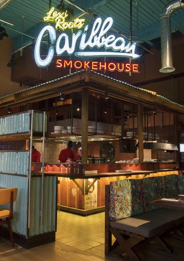 Caribbean Smokehouse Levi Roots New Restaurant 画 In
