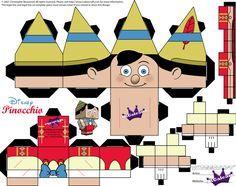 Pinocchio Cubeecraft Plantillas De Papel 5954b607014
