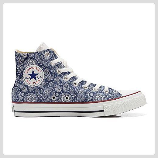 Make Your Shoes Converse Customized Adulte - chaussures coutume (produit artisanal) Elegant Paisley size 34 EU jY2114