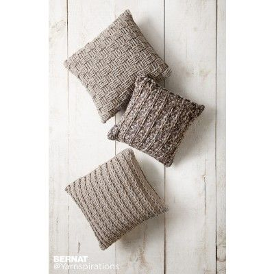 Free Easy Crochet Pillow Pattern Yarnspirations Bernat Free