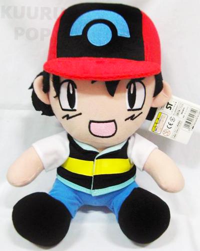 Pokemon Center Original Plush Toy Trainers Ash Ketchum Ash Ketchum