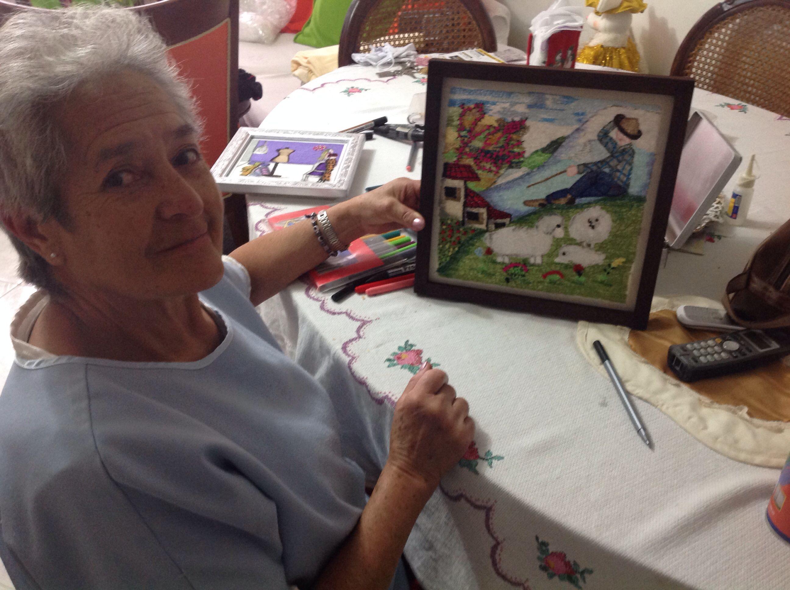 La artista ! Muahhhhh mi mamita hermosa!
