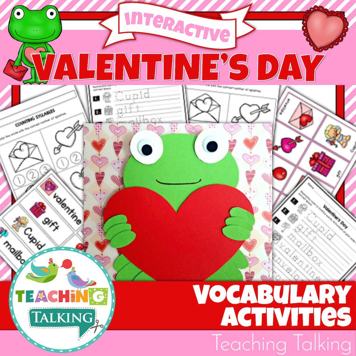 Valentine S Vocabulary Activities