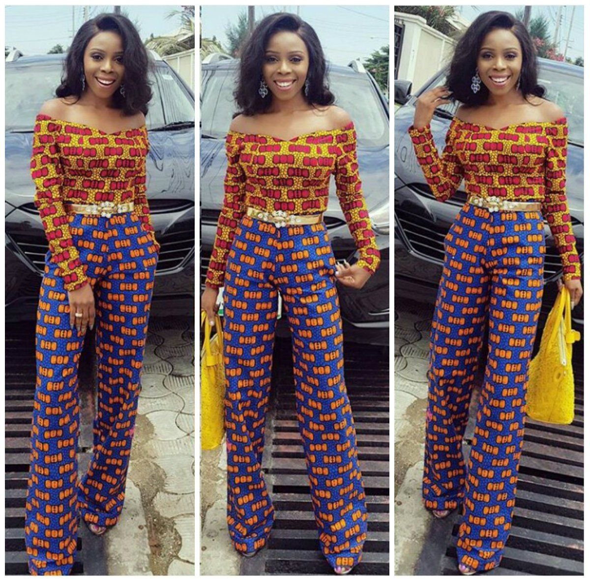 266c43ca1100f Perfect Ways To Rock Your Ankara Palazzo Trousers In 2018