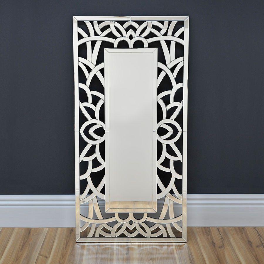 lavish art deco mirror modern wall mirror floor mirror  - lavish art deco mirror modern large wall mirror floor mirror contemporarymirror