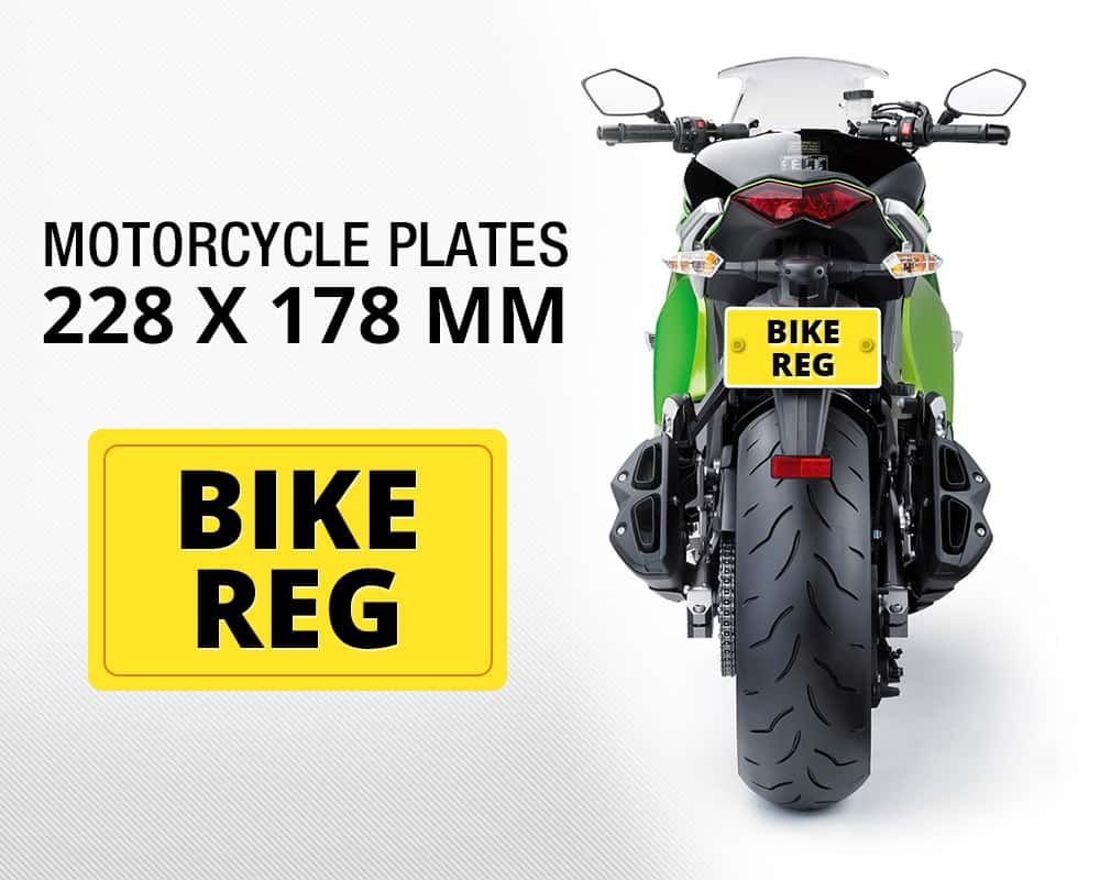 Car colour number plate - Create Your Moped And Motorbike Plates Number Plates Online Upload Your Own Images Borders