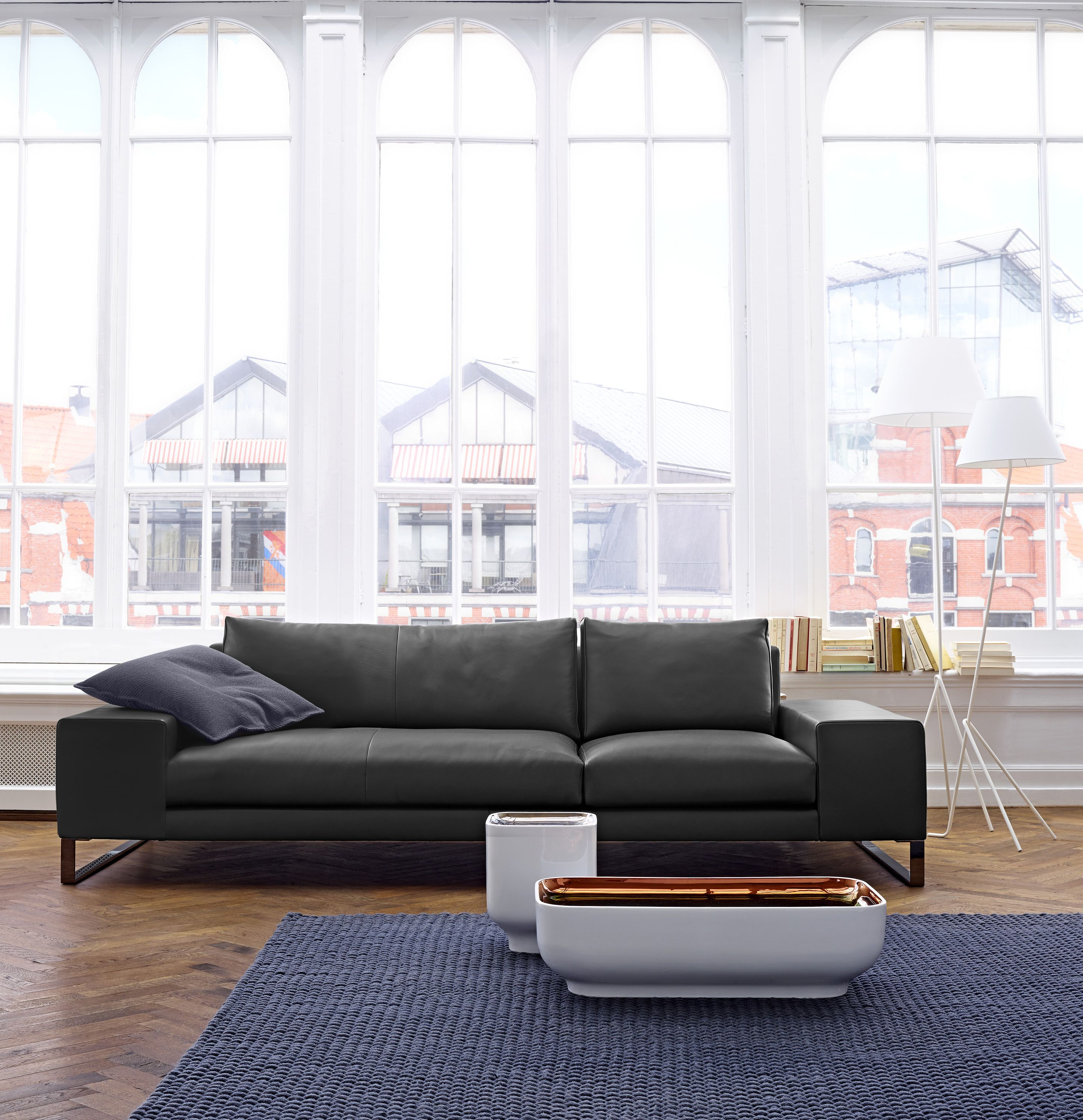 Exclusif 2 sofa collection designed by didier gomez for ligne roset available at linea inc modern furniture los angeles